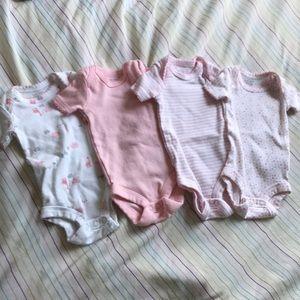 Baby girl onsies size premiee